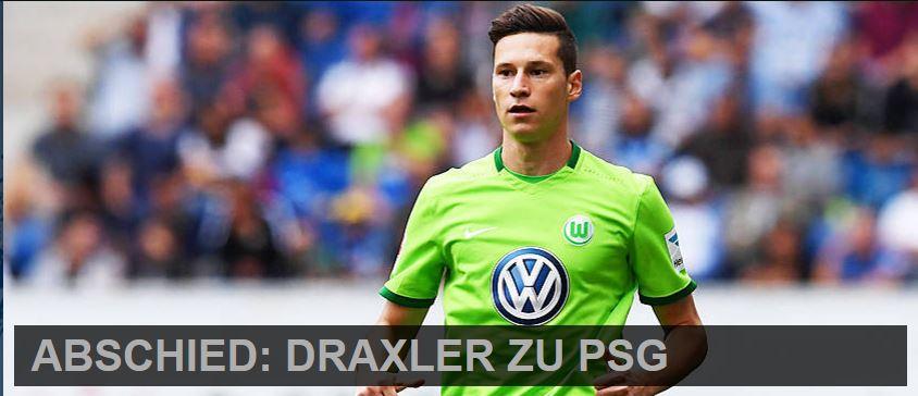 Draxler, PSG, Paris, transfert, mercato, bundesliga, L1, ligue1,julian draxler