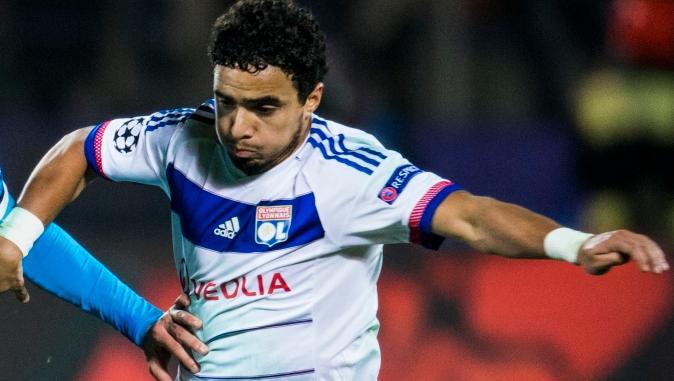 Rafael portant le jersey Lyonnais