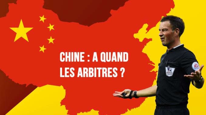 Chine : A quand les arbitres ?