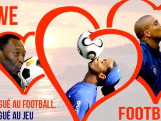 Le football, la drogue la plus dure qu'il soit.