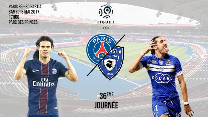 Paris SG-SC Bastia