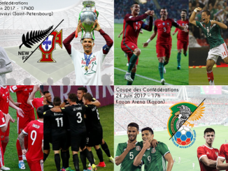 Mexique - Russie et Nouvelle-Zélande - Portugal