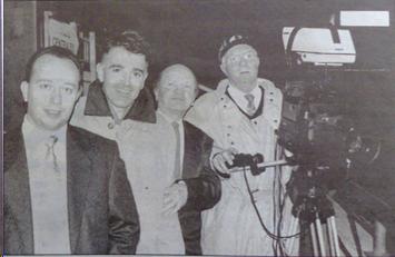 : Les quatre mousquetaires : Jean-Philippe Guilot, Phillipe Gastal, Emile Barry et Alex Mahinc