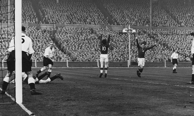 Angleterre - Hongrie - 1953 - La mort de l'Inter