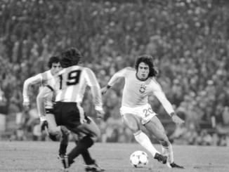 Roberto Dinamite avec le Brésil (numéro 20) contre l'Argentine lors du mondial 1978 (via Vasco da Gama)