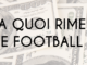 A quoi rime le football ?