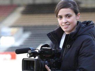 Virginie Riou, community manager guingampaise (Ouest France).