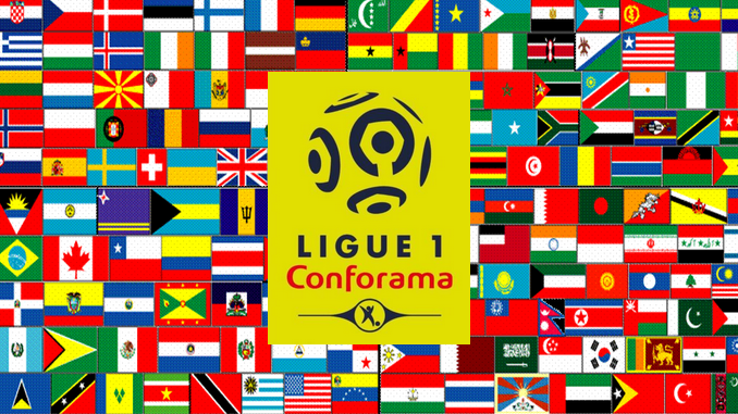 Multiples nationalités en Ligue 1