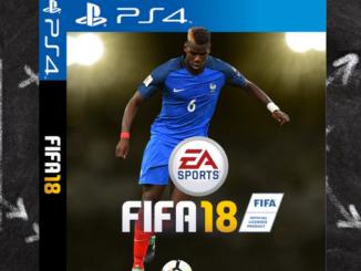 Notre FIFA a nous a Paul Pogba en couverture