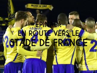 Epinal, en route vers le Stade de France