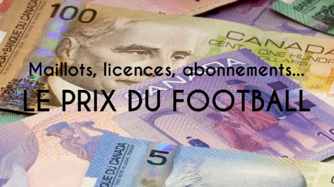 Le prix du football