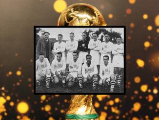 La Team USA au mondial 1930. Bart McGhee est au premier rang, tout à droite.