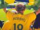 Un maillot de Robinho lors d'un match du Brésil