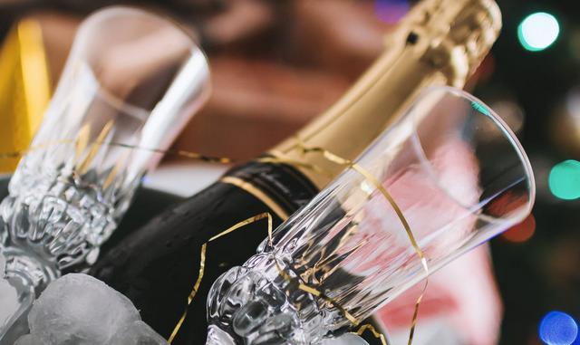 Une coupe de Champagne n'est pas offerte après la lecture de cet article