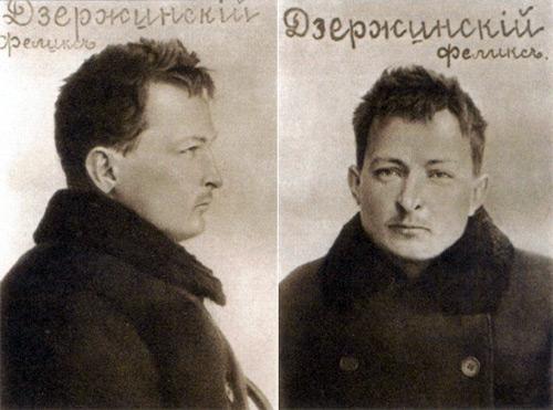 Felix Djerzinski en 1902 / Archives de l'Okhrana