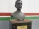 Le buste de Preguinho au musée de Fluminense