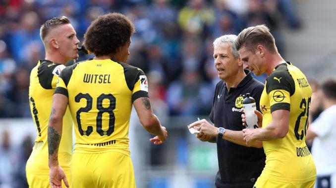 Le Borussia Dortmund de Lucien Favre (Crédits : Goal)