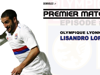 Lisandro Lopez coup franc OL Le mans