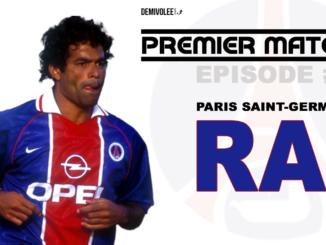 Rai premier match PSG Montpellier 1993