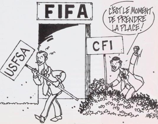 Querelle entre l'USFSA et le CFI