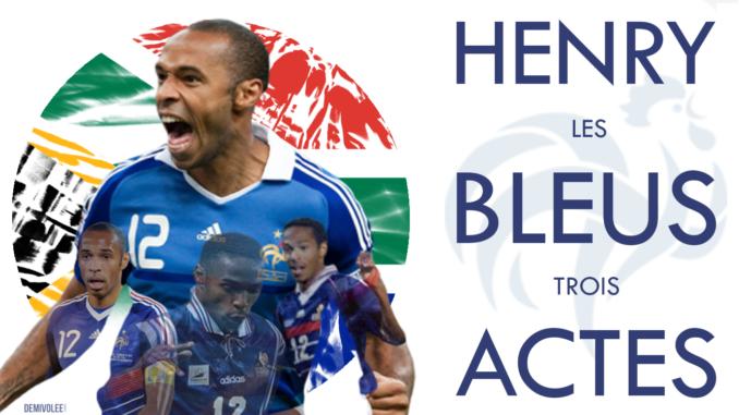 Thierry Henry et son histoire avec l'Afrique du Sud