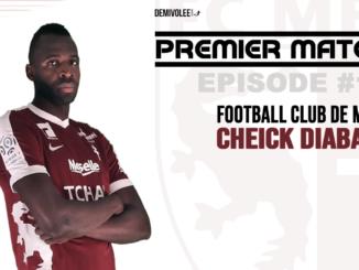 Cheick Diabate avec le maillot de FC Metz