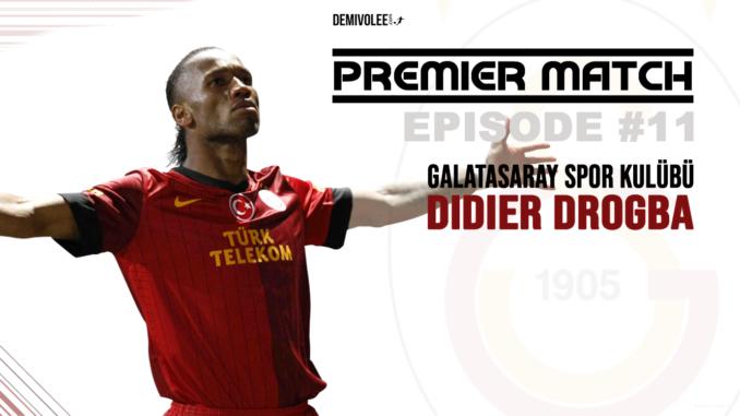 Didier Drogba qui célèbre son premier but sous les couleurs du Galatasaray
