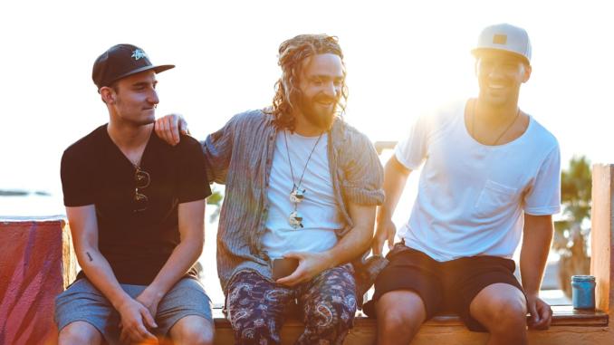 Edgar, Lucien et Paul lors d'un voyage en Israël