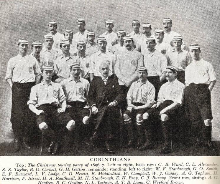 Le Corinthian FC en 1896