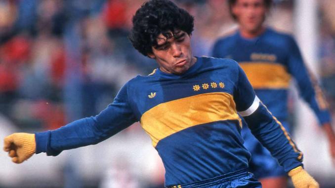 Comme Maradona, certains savent comment apporter du plaisir dans la vie des gens