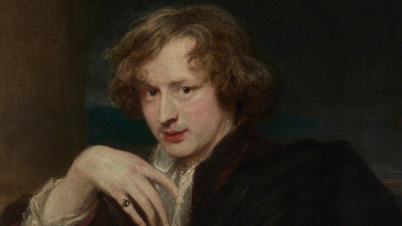 Extrait d'Autoportrait, Antoon van Dyck, 1620-1621