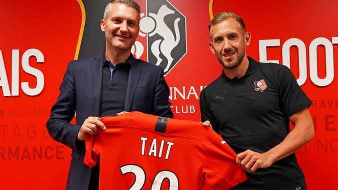 Flavien Tait a rejoint Rennes au mercato