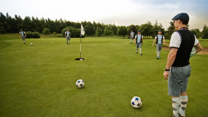 Le footgolf, l'avenir