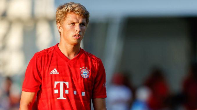 Les débuts de Jann-Fiete Arp avec le Bayern (Crédits : TF-Images/Getty Images)