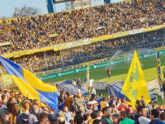 Dans un stade en Argentine (crédits : @hpbboss)