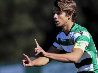 Daniel Bragança sous les couleurs du Sporting (Crédits : Global Imagens)
