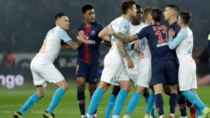 L'enjeu sportif amoindri n'affecte pas l'enjeu symbolique du Classique. (Crédits : Thomas SAMSON/AFP)