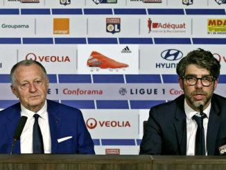 Jean-Michel Aulas et Juninho face à de grands défis. (Crédits : OL)