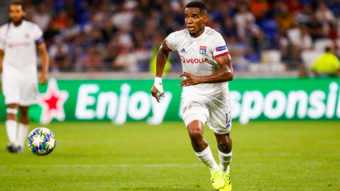 Thiago Mendes à la peine (Crédits : Icon Sports)