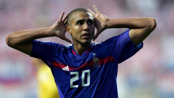 David Trezeguet sous les couleurs de l'équipe de France (Crédits : AFP/Adrian Dennis)