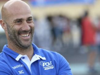 Xavier Collin, l'entraîneur du SAS Epinal