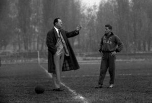Gipo Viani, alors à l'AC Milan.