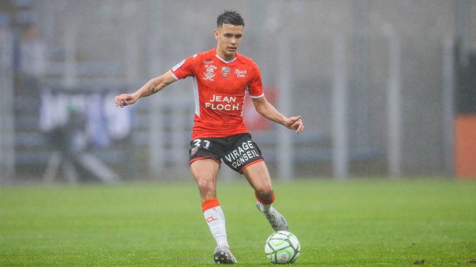 Enzo Le Fée pourrait devenir la future pépite du centre de formation lorientais. (Crédits : Photo Icon Sport)