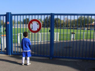 La fermeture des stades pousse le footballeur au... télétravail. (Crédits : Kathy Mattaliano)
