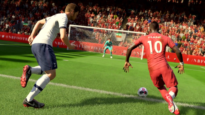 Capture d'écran de la bande-annonce de FIFA 20 (Crédits : EA)