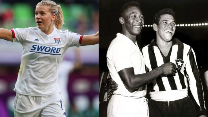 Ada Hegerberg, héritière de Pelé et Garrincha
