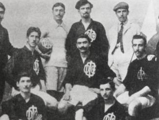 L'équipe de Smyrne aux JO de 1906